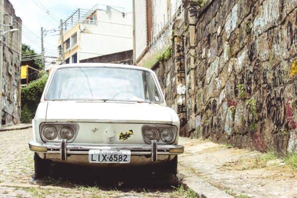 junk car in pasadena
